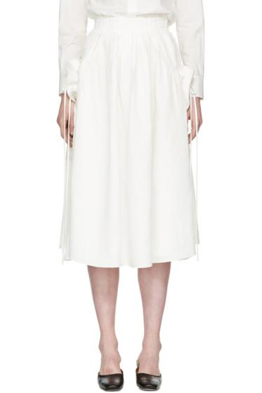Brock Collection - ホワイト ステラ スカート