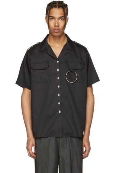 Marques Almeida - Black Two Pocket Shirt