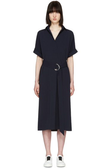 Atea Oceanie - Navy Melissa Dress
