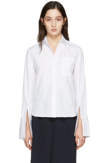 Atea Oceanie - White Wide Cuff Shirt