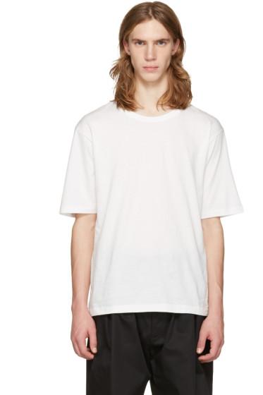 Issey Miyake Men - White Bio Cotton T-Shirt
