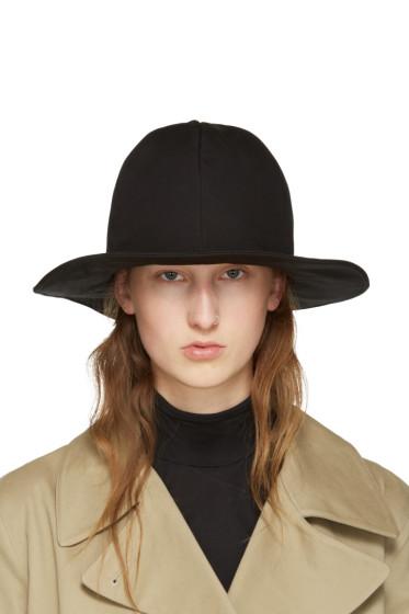Y's - Black Noppo Hat