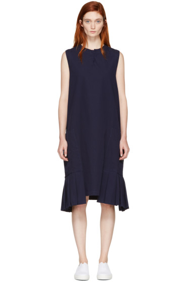 Y's - Navy Pocket Dress