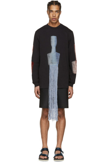 Cottweiler - Black Figures Long Sleeve T-Shirt