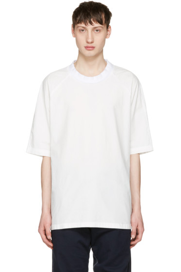 Sunnei - White Oversized T-Shirt