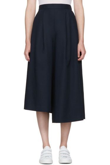 Enfold - Navy Skirted Trousers