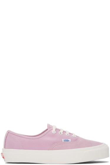 Vans - Purple OG Authentic LX Sneakers