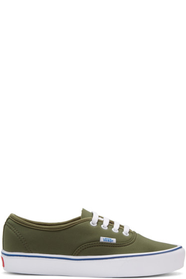 Vans - Green Schoeller Edition Authentic '66 Lite LX Sneakers