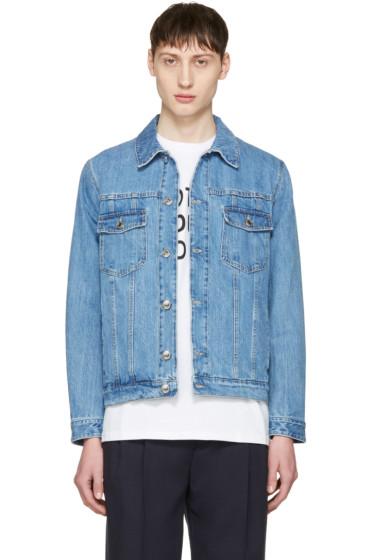 Éditions M.R  - Blue Denim Jacket
