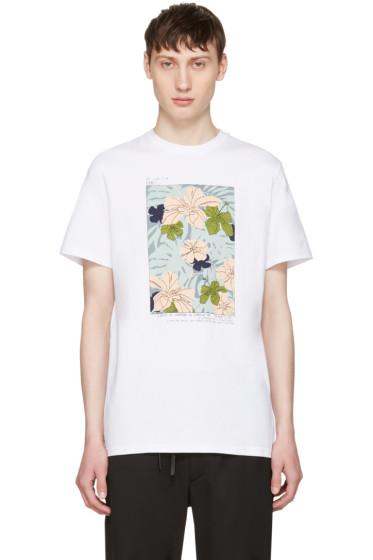 Éditions M.R  - White Flower Shirt