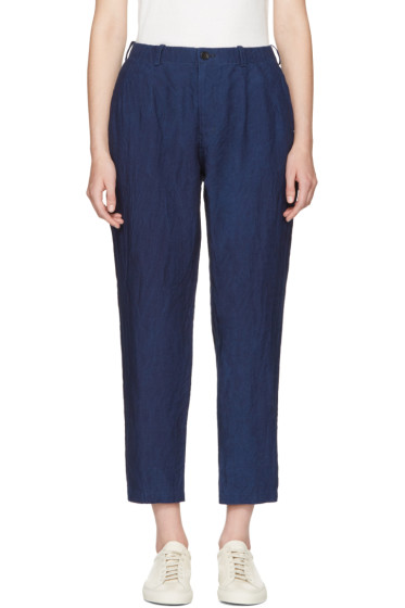 Blue Blue Japan - Indigo Linen Trousers