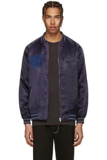 Blue Blue Japan - Navy Souvenir Jacket