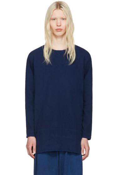 Blue Blue Japan - Indigo Cotton Pullover