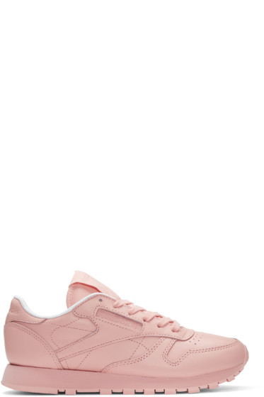 Reebok Classics - Pink Classic Leather Pastels Sneakers