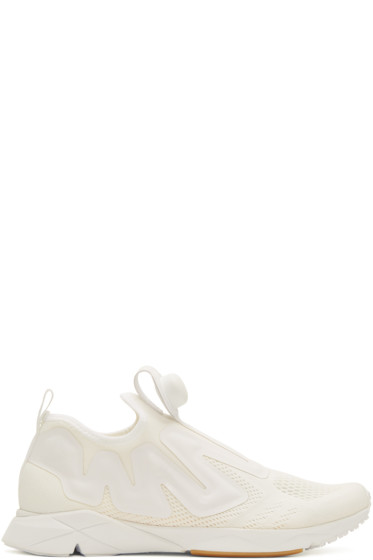 Reebok Classics - White Pump Supreme Engineers Sneakers