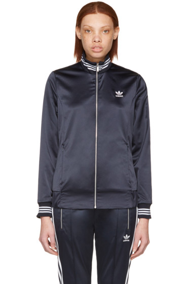 adidas Originals - Navy Zip-Up Track Jacket
