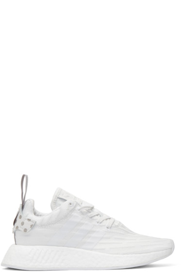 adidas Originals - White NMD R2 PK Sneakers