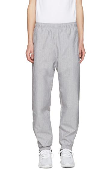 adidas Originals - Grey Orinova Wind Lounge Pants