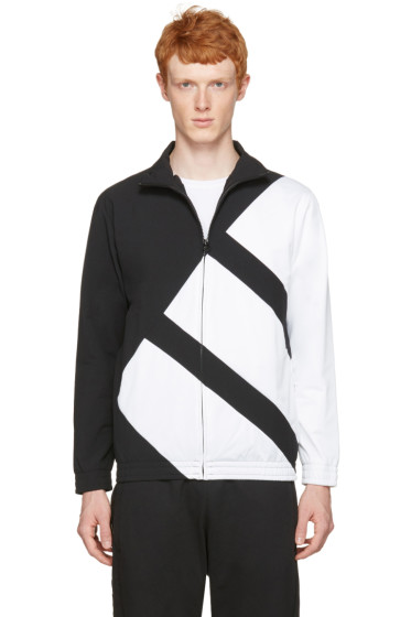 adidas Originals - Black & White EQT Bold Track Jacket