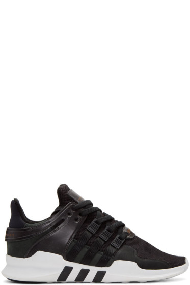 adidas Originals - Black Equipment Support ADV Sneakers
