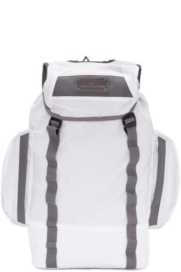 adidas by Stella McCartney - White Multi-Pocket Athletic Backpack
