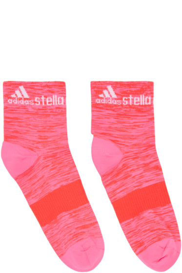 adidas by Stella McCartney - Two-Pack Pink & Purple Running Socks
