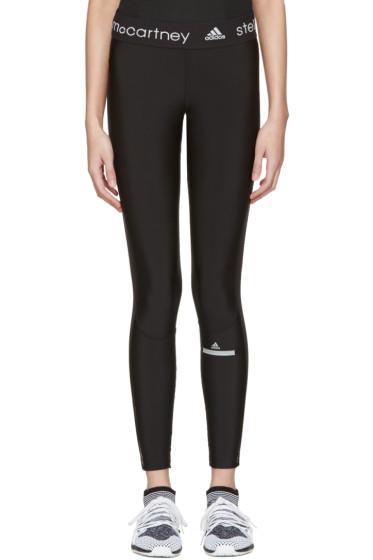 adidas by Stella McCartney - Black Long Run Leggings