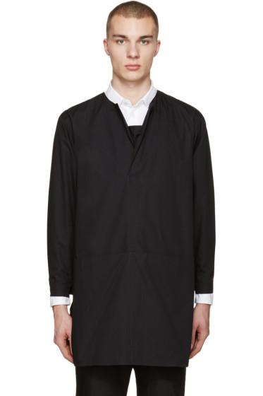 Phoebe English - Black Long Poplin Shirt