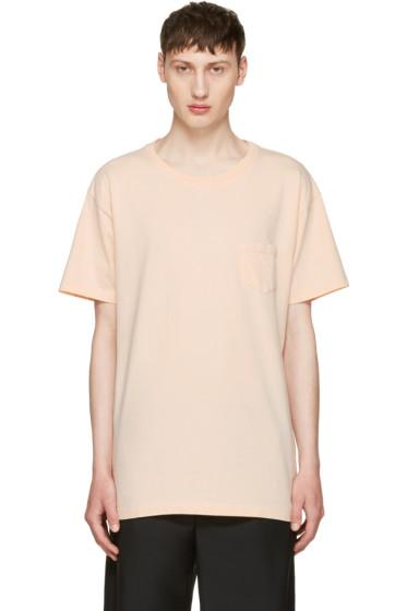 John Elliott - Pink Oversized Pocket T-Shirt