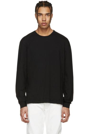 John Elliott - Black Classic Mercer T-Shirt