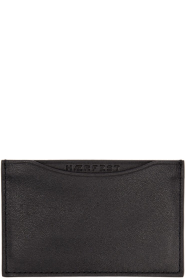 Haerfest - Black H39 Card Holder