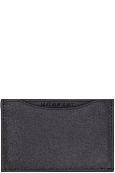 Haerfest - Navy H39 Card Holder
