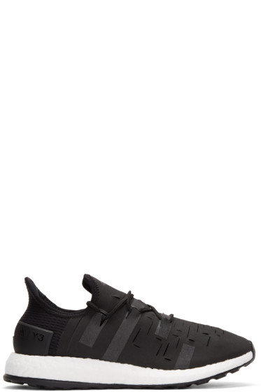 Y-3 SPORT - Black Approach Low Sneakers