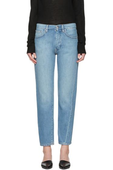 Totême - Blue Original Denim Jeans