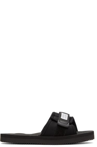 Suicoke - Black Padri Sandals