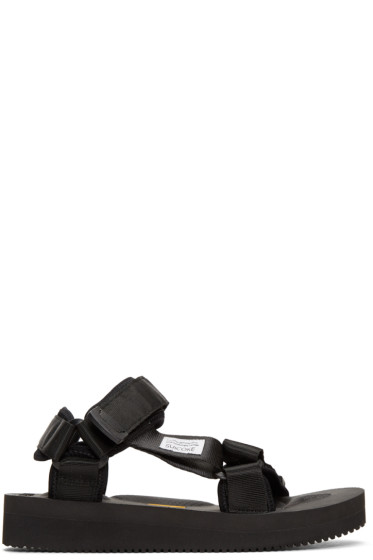 Suicoke - Black Depa-V Sandals