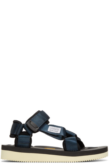 Suicoke - Navy Depa-V Sandals