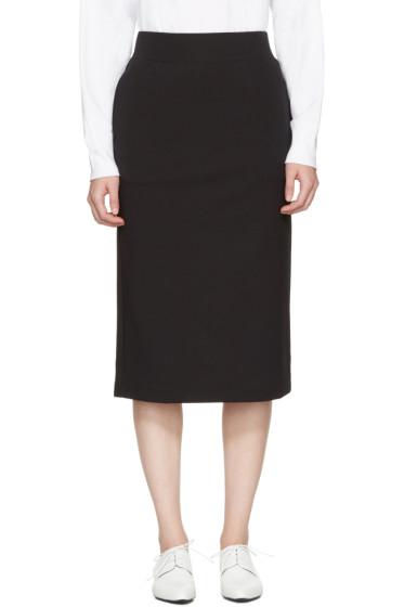 Hyke - Black Pencil Skirt