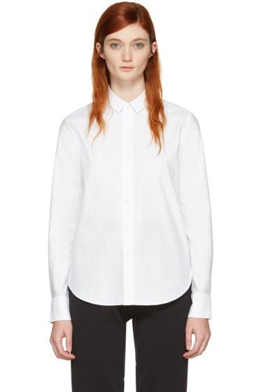 Hyke - ホワイト ポプリン シャツ