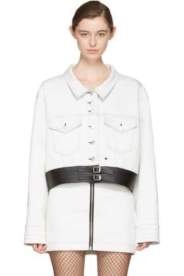 Alyx - White Oversized Denim Jacket
