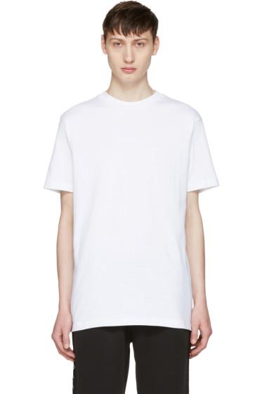 Alyx - White 'Love & Chaos' Classic T-Shirt