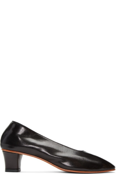Martiniano - Black High Glove Heels