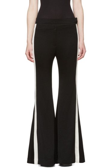 Ellery - Black Lovedolls Wide-Leg Flare Trousers