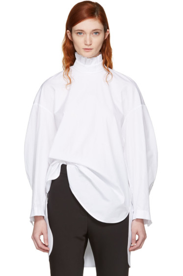 Ellery - White Runaways Blouse