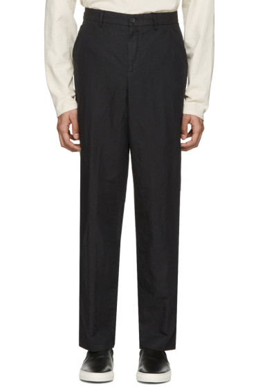 Our Legacy - Black Linen 22 Chinos