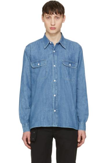 Our Legacy - Blue Denim Rinse Wash Shirt