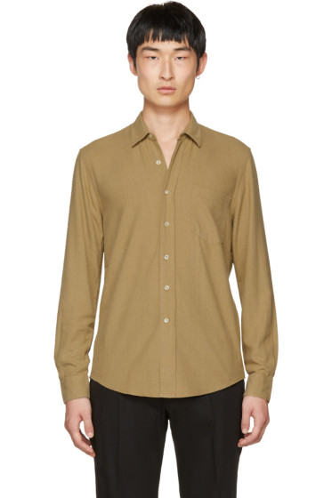 Our Legacy - Tan Silk Classic Shirt