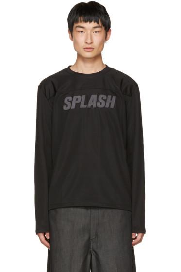 Our Legacy - Black 'Splash' Moto Pullover