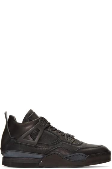 Hender Scheme - Black Manual Industrial Products 10 High-Top Sneakers