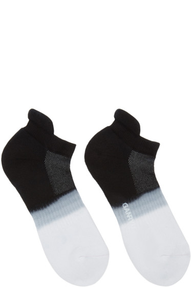 Ganryu - Black & White Tie-Dye Socks